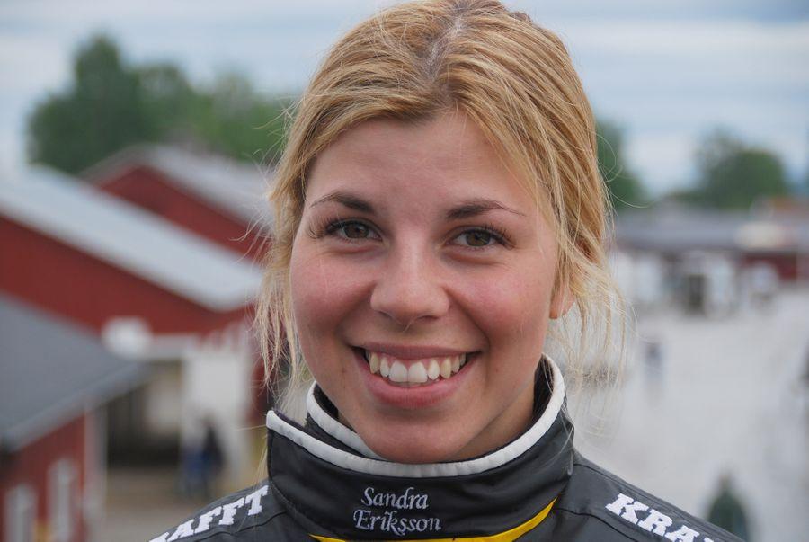 Sandra Eriksson som blev lärlingschampion 2018